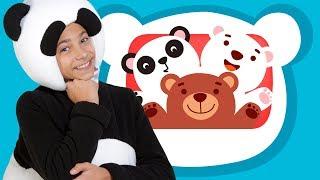 🎇СБОРНИК из 6 песен🎼ТРИ МЕДВЕДЯ -Three bear song- развивающие, веселые детские песни про животных