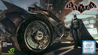 Batman Arkham Knight | i5 6400 GTX 1060 3GB | Benchmark+Gameplay (1080p)