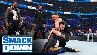 Roman Reigns and The Usos execute a beatdown on Finn Bálor: SmackDown, Aug. 6, 2021
