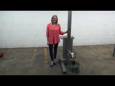 Koch Electric Roll Stock Lift Demonstration