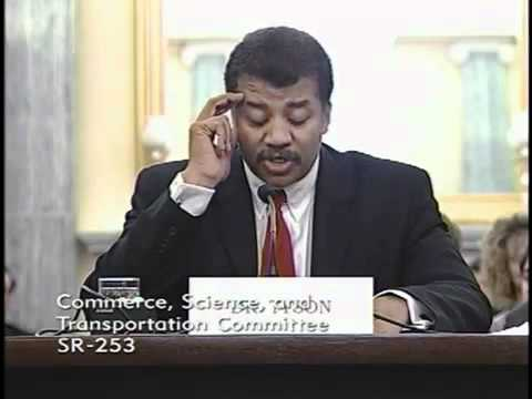 Dr. Neil deGrasse Tysons remarks at Senate Commerce hearing on the future of our space program.mp4