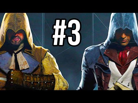Assassin's Creed Unity Co-Op Gameplay #3 - MAZE MADNESS!! (Mission 3 PS4/XB1 1080p HD)