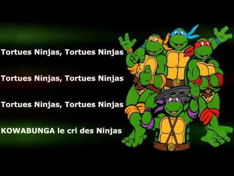 Les Tortues Ninjas - Générique - (Avec les Paroles) - Complet [HD]