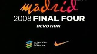 Золотой Спорт России / Баскетбол. Финал Евролиги 2008. Мадрид.  ЦСКА (Москва) - Маккаби (Тель-Авив).