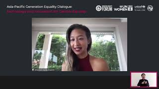 Full video: Asia-Pacific Generation Equality Dialogue: Technology and Innovation for Gender Equality