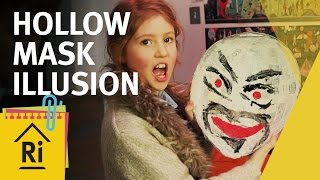 How To Make a Hollow Mask Illusion - Psychology for Kids - ExpeRimental #22