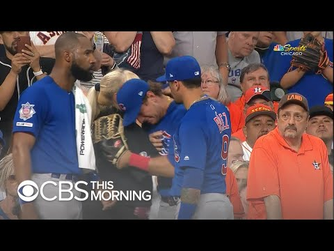 Chicago Cubs Batter Breaks Down After His Line Drive Strikes 4-year-old Girl