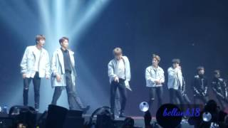 Video 170401 BTS Wings Tour in Anaheim day 1 [Am I Wrong+Baepsae+Dope] download MP3, 3GP, MP4, WEBM, AVI, FLV April 2018