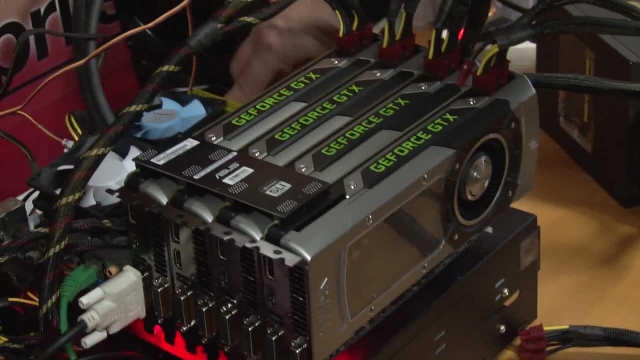 Nvidia Geforce Gtx Titan Quad Sli Demo Crysis 3 And