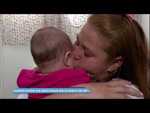 Balanço Geral mostra como vivem as grávidas nas cadeias de SP