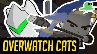 """Katsuwatch 'Dragons""""   Overwatch Animated Short but with CATS"""