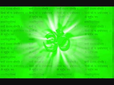 Ghana Patha recitation of the Gayatri Mantra.wmv
