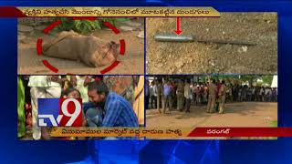 Rowdysheeter's headless body found in gunny bag in Warangal - TV9
