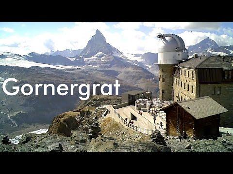 SWITZERLAND: Gornergrat mountain (3,089 m) [HD]