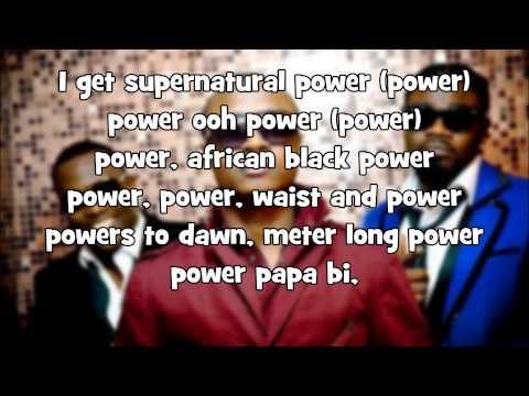 4x4 Waist & Power Lyrics (African Man)