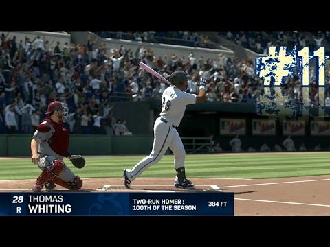 RTTS 17 MLB BREWERS CF 100TH HOMER OF THE SEASON