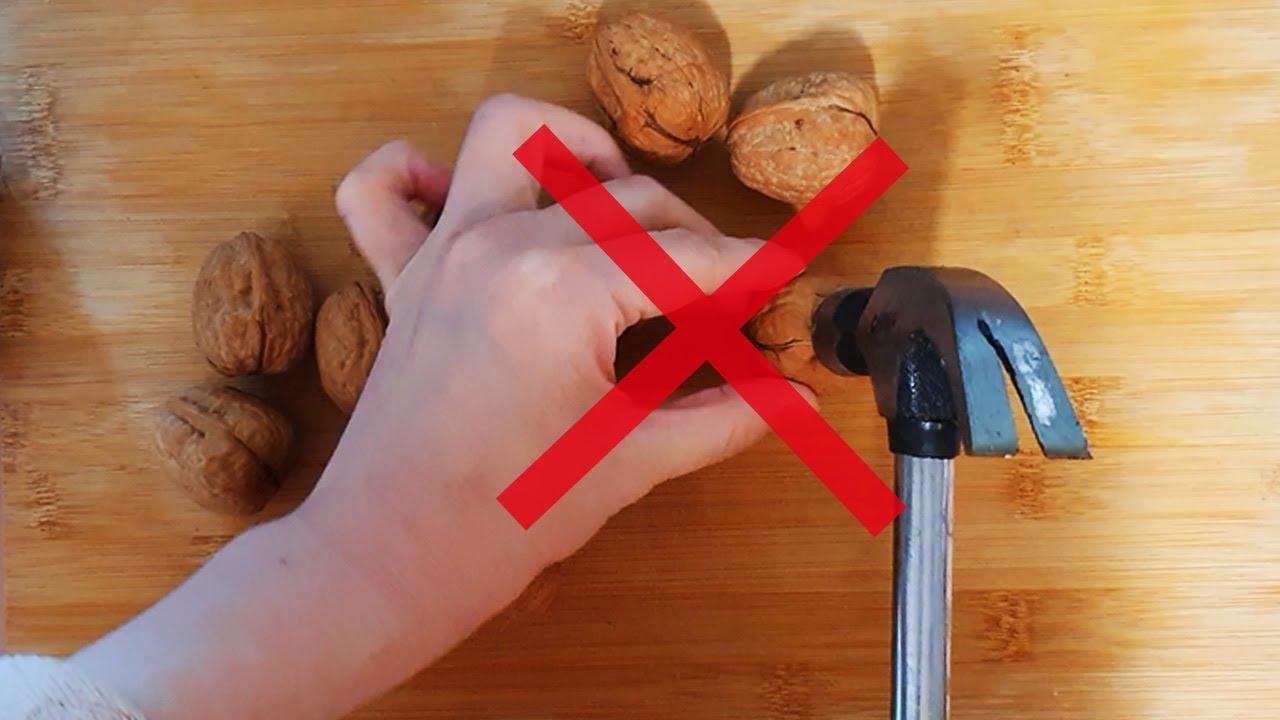 층간 소음없이 호두 까는 법│How to Remove Skin From Walnuts  -[포인트팁]