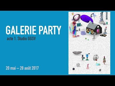 Teaser Galerie Party | Exposition-Atelier | Jeune public | Centre Pompidou