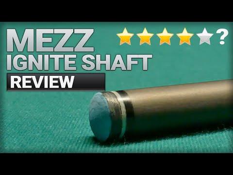 2021 Pool Cue Carbon Fiber Shaft Review - Mezz Ignite 12.2 with a Zan Plus medium tip.