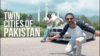 THE TWIN CITIES OF PAKISTAN | ISLAMABAD | RAWALPINDI I UKHANO VLOG
