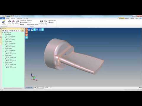 New 5 Axis Holes Tech Tip | Vero Software