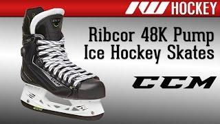 ccm ribcor 48k ice hockey skate review