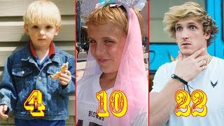 Logan Paul From Baby To Adult - Star News