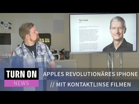Apples revolutionäres iPhone // Mit Kontaktlinse filmen // Smartphone ohne Touch - TURN ON News