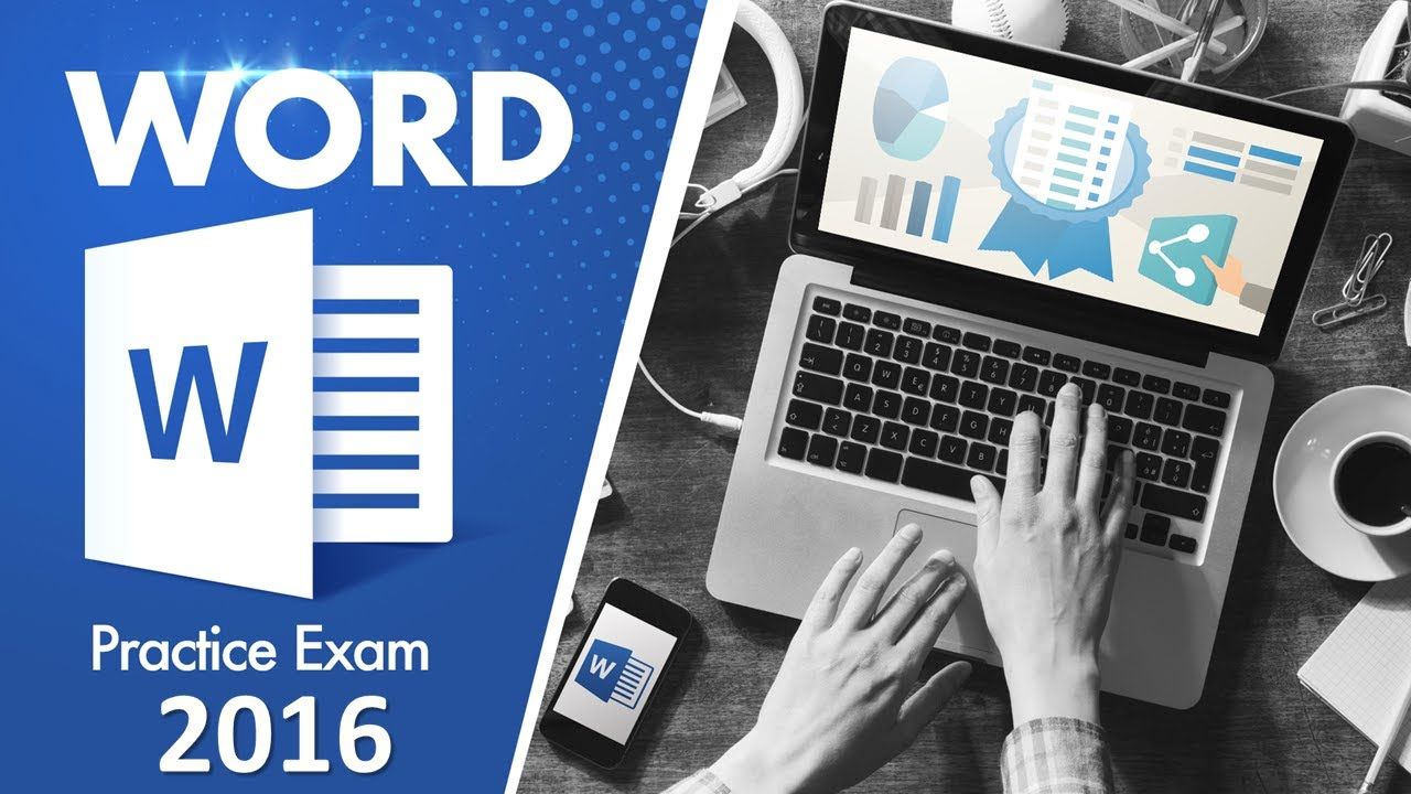 Word 2016 How To Pass Any Word Exam Mos Exam Practice Test Mos