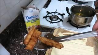 Хворост из Слоёного Теста Fried Puff Pastry Sticks