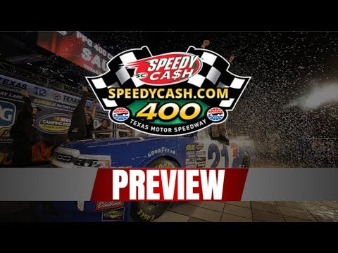 Previewing the 2019 SpeedyCash.com 400 at TEXAS MOTOR SPEEDWAY