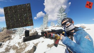 SNOWBALLING TO A BOX OF AKS IN 4 HOURS // RUST GAMEPLAY