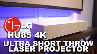 The TV Alternative! LG HU85 4K Ultra Short Throw Laser Projector Unboxing & Overview