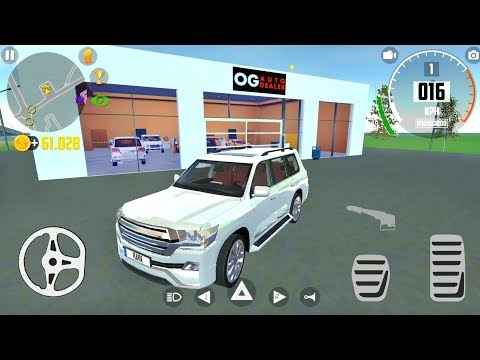 New Toyota Land Cruiser Driving In Car Simulator 2 - Android Gameplay FHD