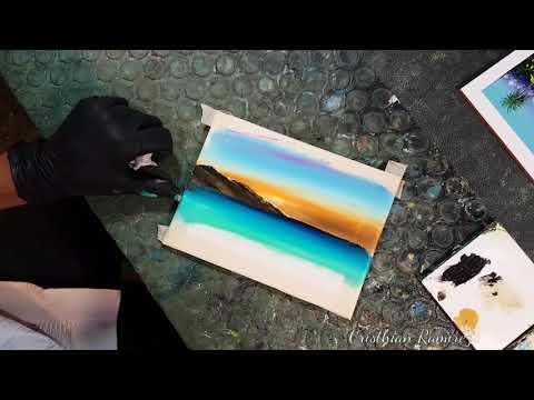 Finger Painting tutorial
