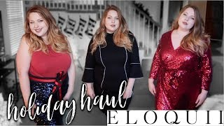 ELOQUII Holiday Try On Haul 2018 | Plus Size Fashion
