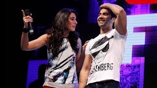Varun Dhawan Mimics Wrestler 'The Rock'