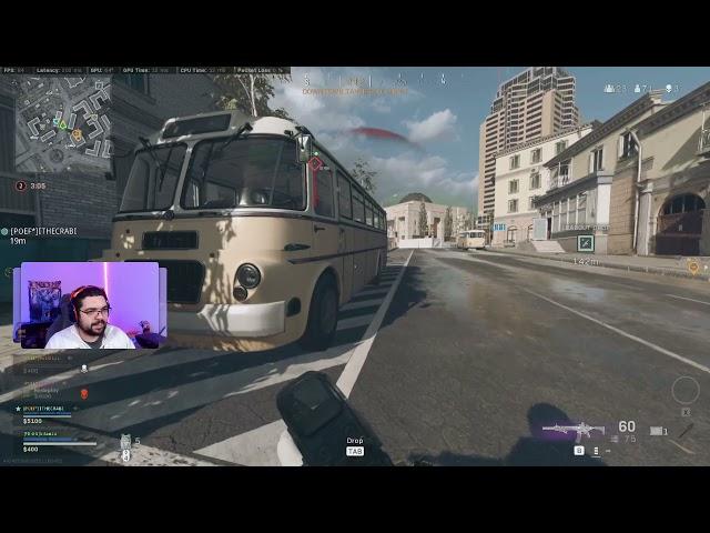Call of duty: Warzone 33 kill Quad BR win 200ms