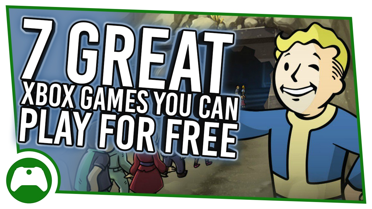 7 Best Xbox Games You Can Play For Free Youtube