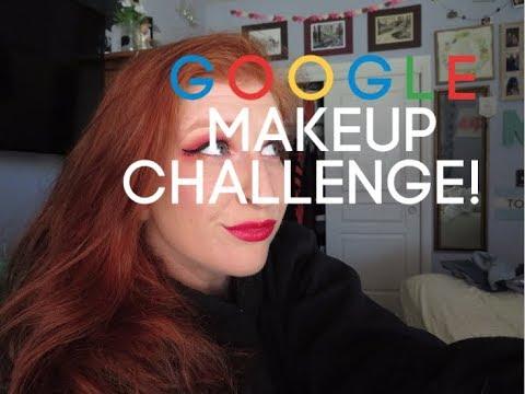 GOOGLE Makeup Challenge thumbnail