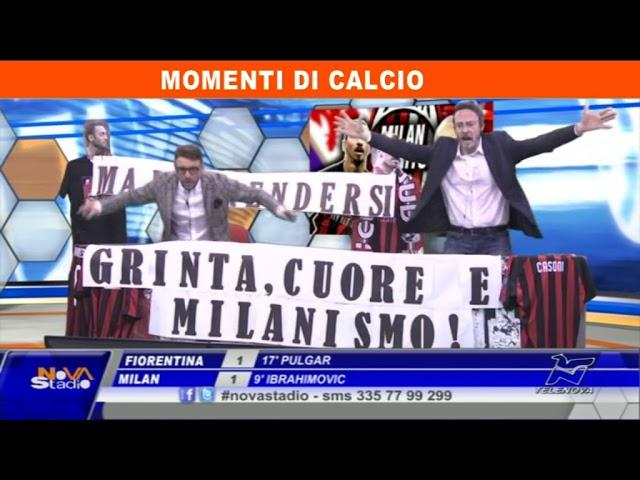 Fiorentina - Milan 2-3 Gli highlights di Novastadio