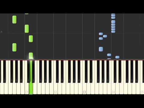 Benny Hill Thème Piano 100% Synthesia.