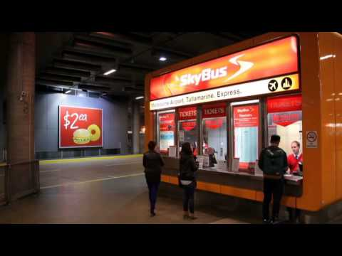 Airport Shuttle Services - Melbourne Airport Skybus Super Shuttle