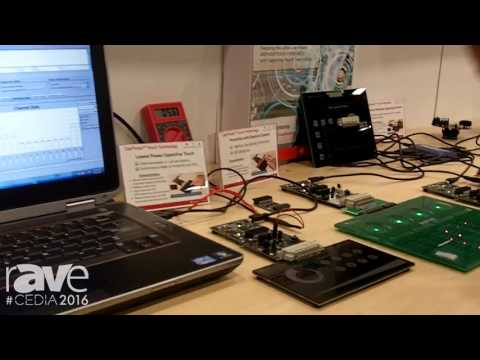 CEDIA 2016: Texas Instruments Demos the CapTIvate Capacitive Touch Technology
