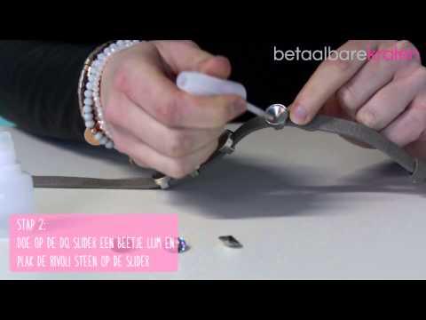 Sieraden maken: Hoe maakt u een Love Crystals armband? ♡ DIY