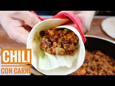 Chili con carne | Come fare il Piatto Messicano Tex Mex | Ricetta Originale |