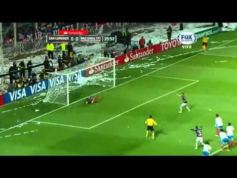 Gol de Ortigoza a Nacional - Final Copa Libertadores 2014 (Mariano Closs)