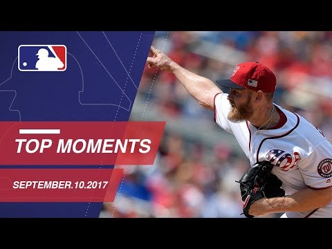 Adams hits walk-off plus nine moments from around Major League Baseball 9/10/17