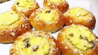 ВАТРУШКИ ВАНИЛЬНЫЕ  Изумительные!  Мягкие и Нежные! Buns With Cottage Cheese.