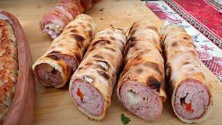 Кебаб, приготовленный по самому необычному рецепту, доступный в приготовлении для каждого!